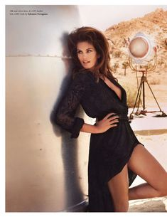Cindy Crawford - Only gets better with time.