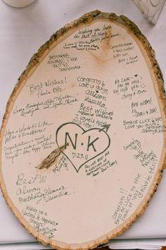 35 Non Traditional And Creative Wedding Guest Book Ideas | Weddingomania