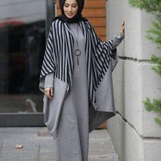 Stylish and stylish ladies design Our knitwear Long-sleeved . , hijab Stylish and stylish ladies design Our knitwear Long-sleeved . Modesty Fashion, Abaya Fashion, Muslim Fashion, Fashion Outfits, Habits Musulmans, Estilo Abaya, Hijab Style Dress, Mode Abaya, Iranian Women Fashion