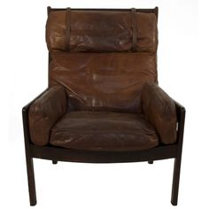 Leather Lounge Chair Love leather furniture