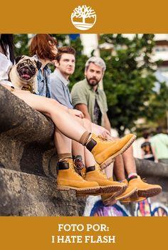 Yellow Boots, natureza e amigos, tudo de bom! #Bota #Timberland