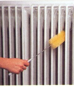 How to Paint radiators with roller
