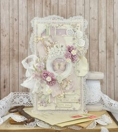 Laugh often, love much (Pion Design) Shabby Chic Paper, Shabby Chic Wall Art, Shabby Chic Cards, Vintage Shabby Chic, Vintage Style, Creative Crafts, Diy And Crafts, Paper Crafts, Card Crafts