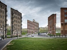 Isolated Building Facades by Zacharie Gaudrillot Roy