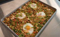 Rice Recipes, Asian Recipes, Crockpot Recipes, Rice Dishes, Food Dishes, Main Dishes, Veggie Bites, Sheet Pan, Fried Rice