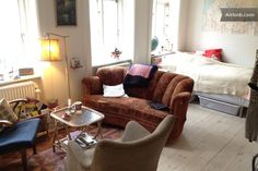Charming central studio apartment in Copenhagen