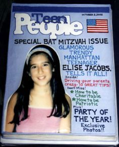 Bar/Bat Mitzvah Cakes-  Great with B Mitzvah weekly invite... keep that fashion theme going
