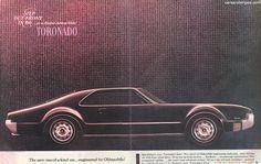 1966 Oldsmobile Toronado - One-of-a-kind - Original Ad