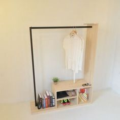 Best Closet Organization Ideas You'll Want to Steal Immediately Slim and open, these hangers easily file away pants in your closet. The design also makes clothing easier to grab off the rack as you dash t Hanging Racks, Diy Hanging, Closet Bedroom, Bedroom Decor, Closet Space, Diy Clothes Closet, Clothes Hangers, Diy Furniture, Furniture Design