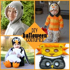 Halloween: DIY Halloween Costumes - Killian might need to be a monster this year!