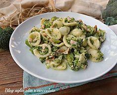orecchiette broccoletti e salmone-primo piatto semplice e veloce