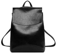 Youth Pu Leather Backpack Women Fashion School Bags For Teenagers Girls Female Ruckpack Shoulder Bag Sac A Dos Mochila Feminina Vintage Leather Backpack, Black Leather Backpack, Leather Backpacks, Pu Leather, Women's Backpacks, Leather Cover, Casual Backpacks, Vegan Leather, Leather Bags