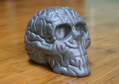 gift idea for @christmas : #skullbrain black by Emilio Garcia / #christmassale on www.artandtoys.com ( link in) GO GO GO !! #porcelain #sculpture #art made in #limoges#porcelainLimoges #savoirfaire #luxe #edition #limited #editionlimited