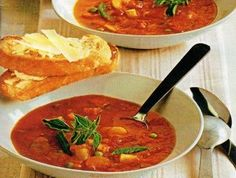 Rajčatová polévka se zeleninou Thai Red Curry, Ethnic Recipes, Food, Essen, Meals, Yemek, Eten