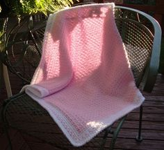 The Good Life: Puffy Pink Baby Blanket Complete!