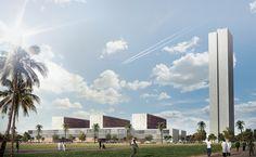Luanda University Hospital, Camama, Cabiri, Angola, 2014   Design - Eduardo…