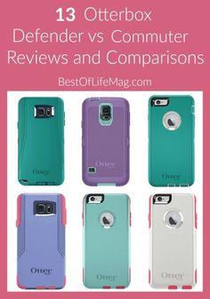 Otterbox Commuter Vs Defender  Case Reviews and Comparisons