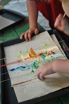 Snap Painting | Familylicious
