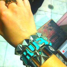 BCBG bracelets:)