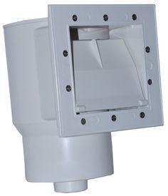 Flo-Pro Ii Standard Short Throat Skimmer,White