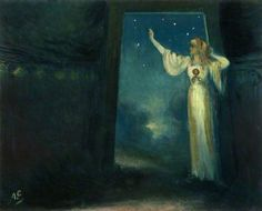 Deidre at the Door of Her Dun - George William Russell / Æ