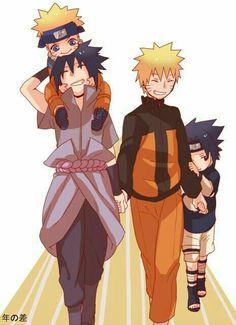 Naruto ~ SasuNaru Sasuke x Naruto Naruto Uzumaki Shippuden, Naruto Kakashi, Sasunaru, Anime Naruto, Boruto, Naruto And Sasuke Kiss, Naruto Shippuden Characters, Naruto Comic, Naruto Cute