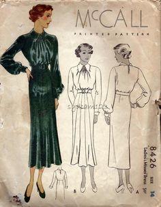 McCall 8426 (1935)