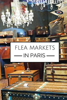 There is no place like Paris, even when it comes to thrifty shopping, and you can find droolworthy items from Paris flea markets, and at least come home with ideas how to bring the Paris flea market style for your home.