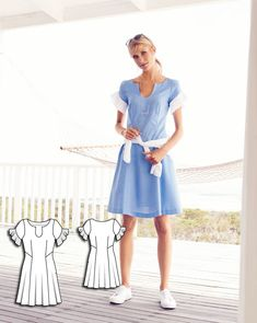 Blue Skies: 9 New Women's Sewing Patterns