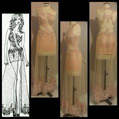 Vestido longo lindo com saia removível por Gabriela Casagrande Ateliê exclusivo.