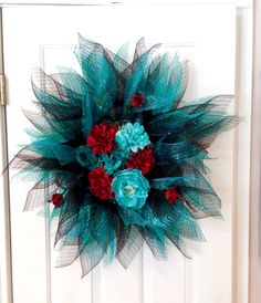 Everyday wreath for front door