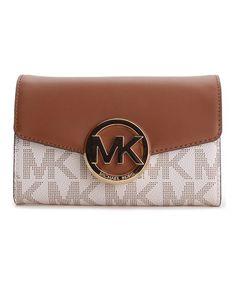 This Vanilla Hudson Crossbody Bag is perfect! #zulilyfinds