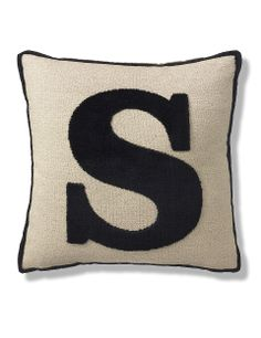 Letter S Cushion | M&S
