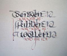 20. September - Kalligraphie-Werkstatt