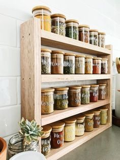 spice shelf timba trend rack folk the and Spice Rack Rack Shelf The Timba Trend and FolkYou can find Kitchen spices and more on our website Kitchen Spice Racks, Diy Kitchen Storage, Diy Storage, Storage Ideas, Storage Design, Spice Rack In Pantry, Mason Jar Storage, Pantry Design, Smart Kitchen