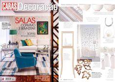 INSIDHERLAND | Fallen Leaves mirrors at Caras Decoração Magazine. Portugal. March 2013 #INSIDHERLAND #press #portugal #carasdecoracao #magazine #fallenleaves #mirrors