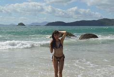 Look com biquíni estampado - Blog Ela Inspira - http://www.elainspira.com.br/cold-aint-for-me-my-beach-look/
