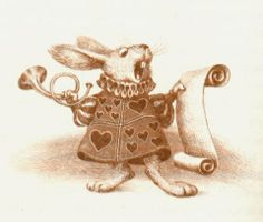 Alice's Illustrated Adventures In Wonderland: Chapter 11 ~ Who Stole The Tarts?