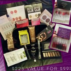 $225 value for only $99 - Younique kit!! Buy the presenters kit with no obligations...get the deal and forget about it :)