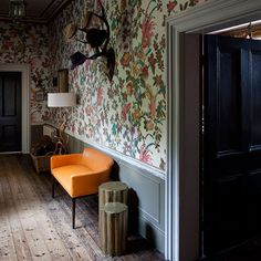 Flur Diele Wohnideen Möbel Dekoration Decoration Living Idea Interiors Home  Corridor   Groß Flur Mit Aussage