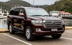 Toyota Land Cruiser 200, 2017 cars, SUVs, pier, Toyota