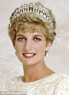 Princess Diana, 1991: Married to Charles for ten years, with two young sons, but a year later the couple split