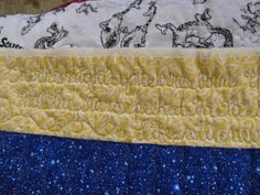 "RobinHill Quilts~""LoNgArM LoVe LeTTeRS"""