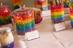 Resultado de imagen para rainbow party m&m