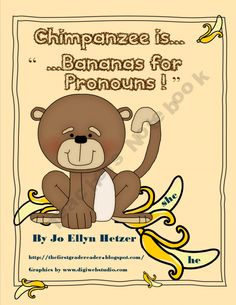 Lil Chimpanzee is Bananas for Pronouns