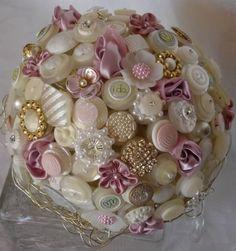 button bouquet ❤