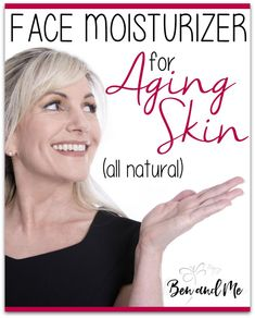 When I first began learning about Frankincense essential oil, apart from the pain-reliving qualities, I discovered it has amazing properties for skin care. This face moisturizer for aging skin is my favorite.