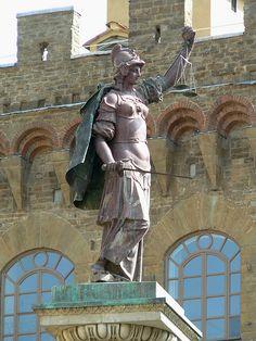 Firenze - Piazza Santa Trinita - Colonna della Giustizia
