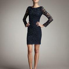 Dvf Zarita Lace 3/4 Dress