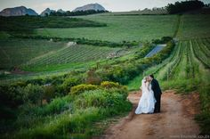 Top 20 Garden & Outdoor Wedding Venues in Cape Town | Confetti Daydreams - #Waterkloof #Wine #Estate offers a spectacular #Winelands wedding location that overlooks False Bay and the Winelands below ♥ #Garden #Outdoor #Wedding #Venues #Cape #Town